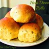 Herb Dinner Rolls with #STAROliveOil