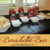 How to throw a Bruschetta Bar + a Bertolli Riserva Giveaway