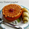 Cherry Broiled Grapefruit