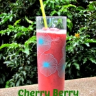 Cherry Berry Zucchini Smoothie #V8Refreshers
