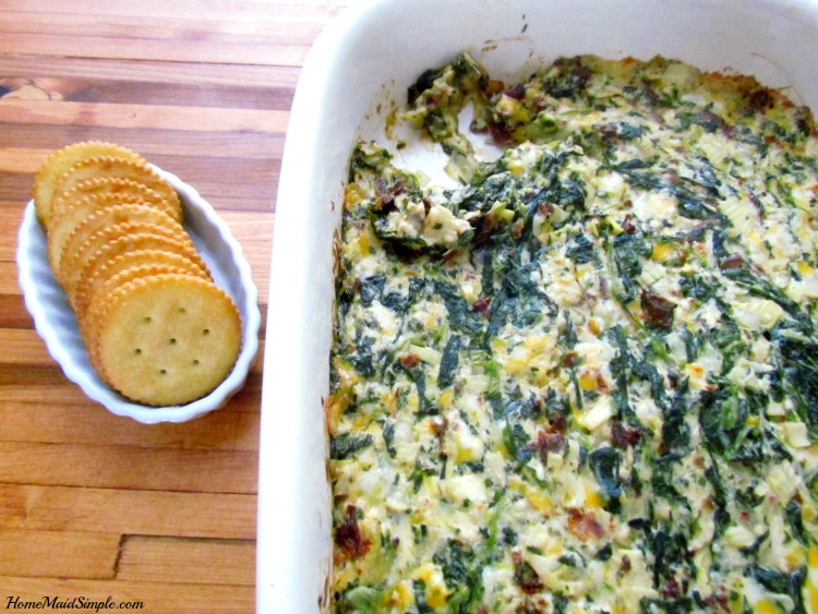 Baked Spinach and Artichoke Dip is worth making over and over again