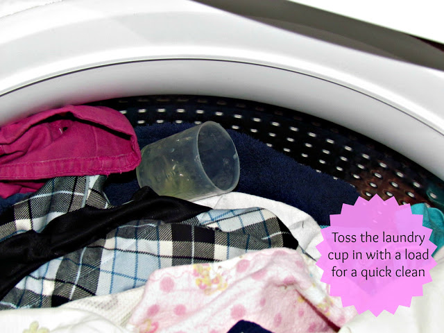 Cleaning the Laundry Cup #TuesdayTips