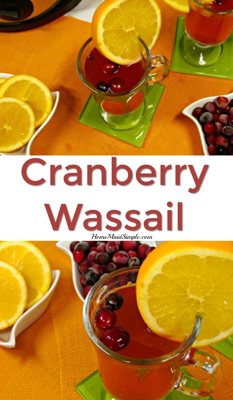 Cranberry Wassail is the perfect warm beverage all winter long. Serve it at holiday gatherings, or just to warm up.