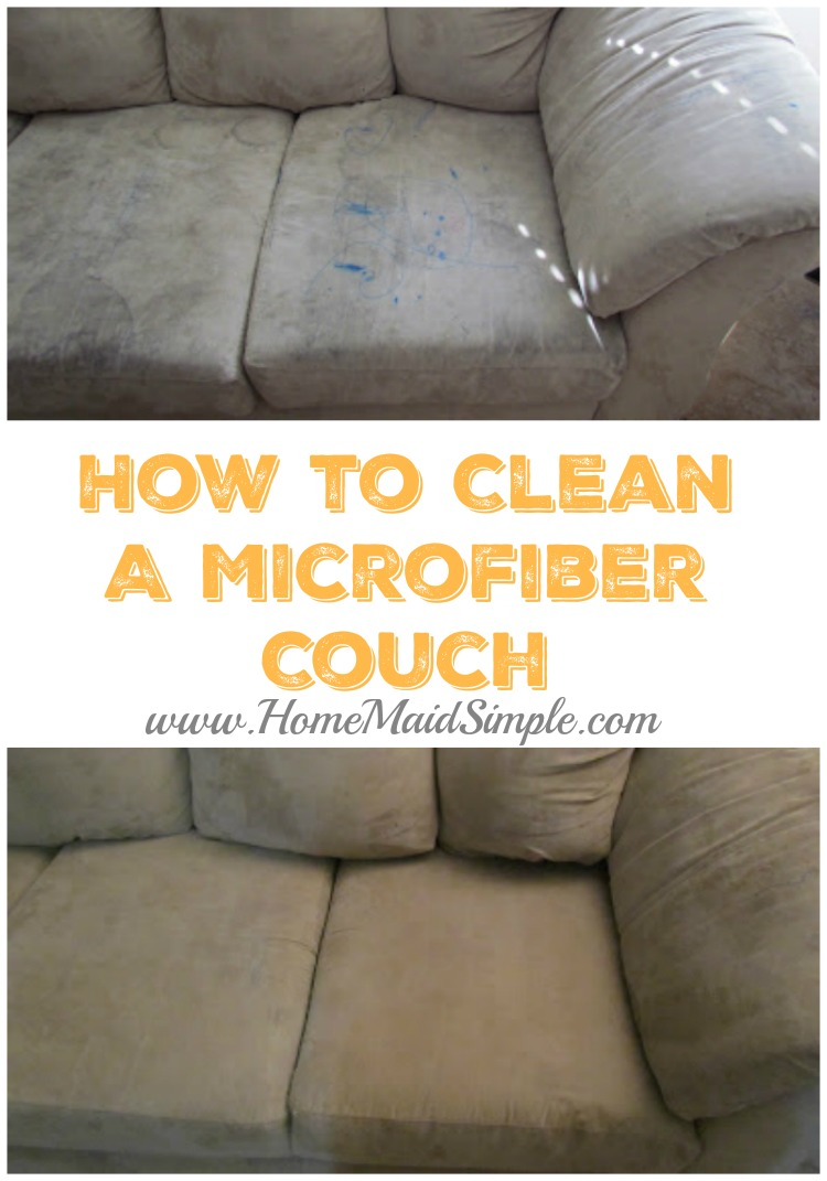 How To Clean A Microfiber Couch Or Other Furniture