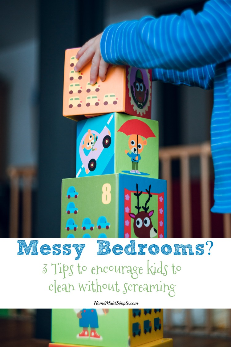 3 tips from Positive Parenting Solutions to help kids clean their messy bedrooms.
