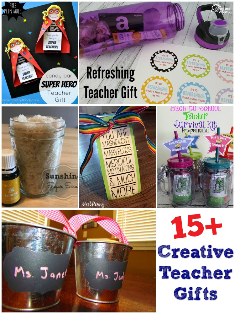 15+ of the most Creative Teacher Gifts