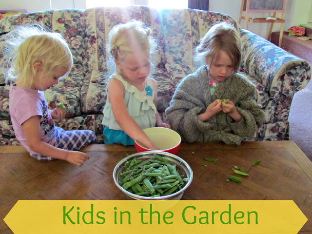 Get kids in the garden and they will learn to enjoy vegetables