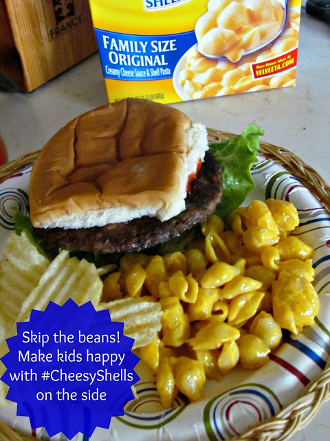 Kid Friendly Side with #CheesyShells