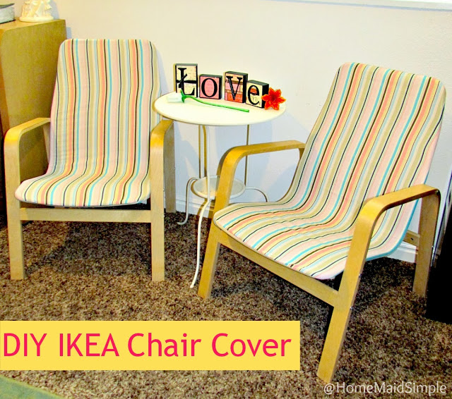 DIY Ikea Chair Recover