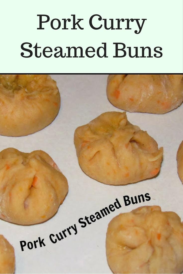 Pork Curry Steamed Buns