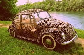 wrought iron car