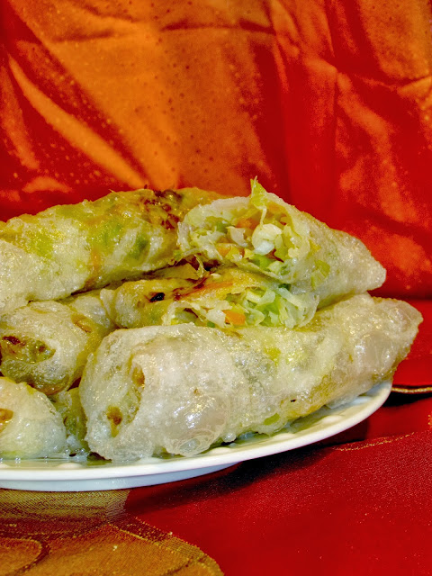Vegetable Spring Rolls. Browse more recipes from China at the Food of the World Link Party.