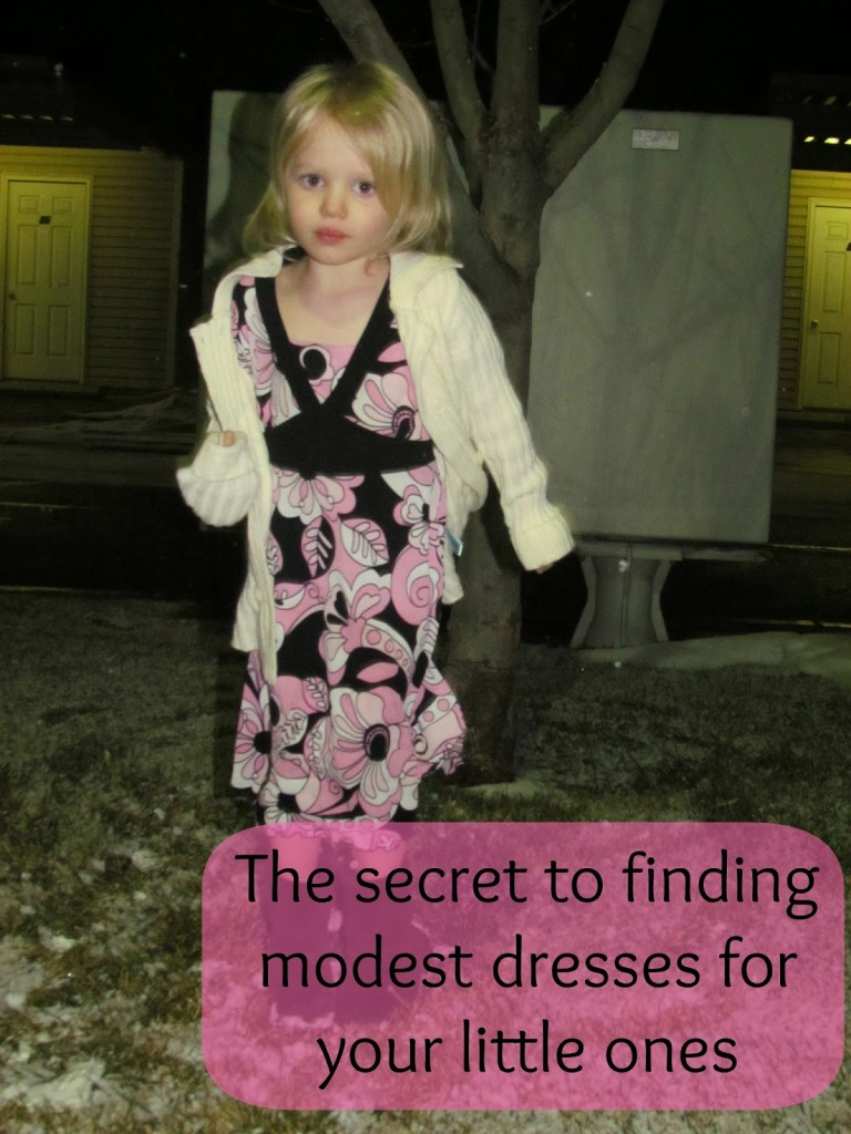 947c604044a2 I've mentioned before how hard it is to find decent, modest, age  appropriate clothing for little girls. So many trends tend to be making  everything as short ...