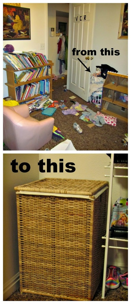 Ikea Hamper makes all the difference