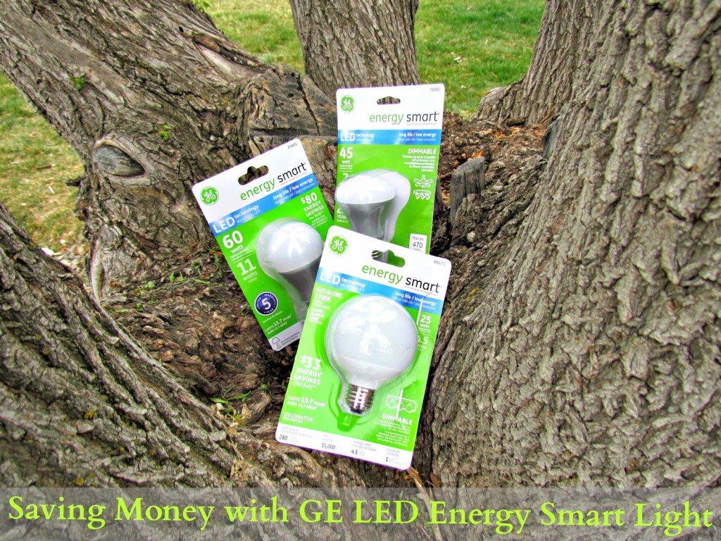 Saving Money with GE LED Energy Smart bulbs #LEDSavings #shop #cbias