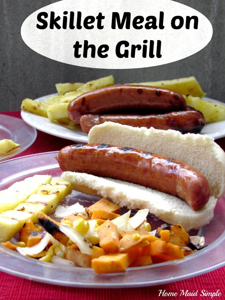 Skillet Meal on the Grill #StartYourGrill #AmericanCraft #shop #cbias
