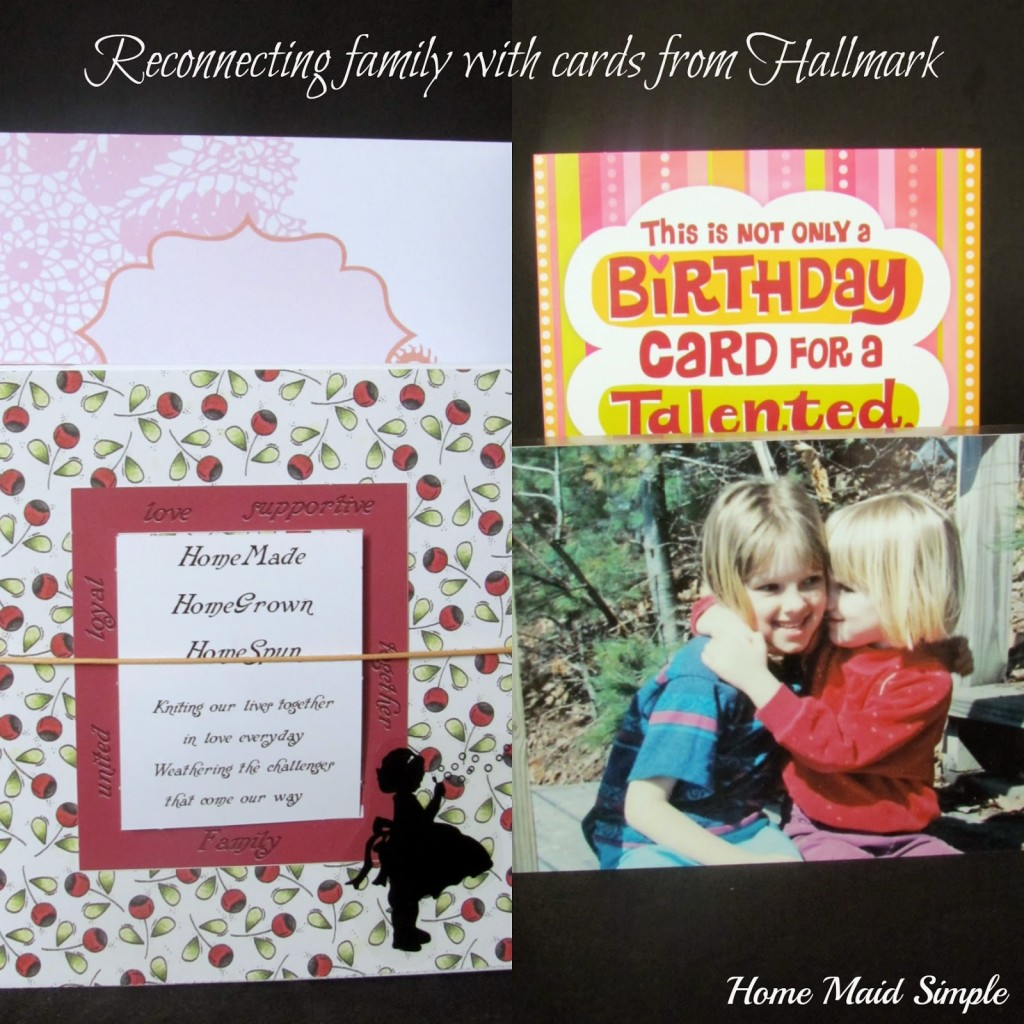 Connecting friends and family with Hallmark cards #tbt #ConnectingFriends #shop #cbias