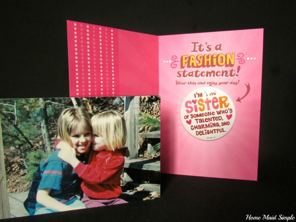 #tbt photo mount and Fashion Hallmark card from Walmart #ConnectingFriends #tbt #shop #cbias
