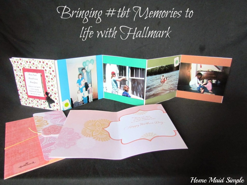 Bring #tbt memories back to life with a photo display and Hallmark card #connectingfriends #shop #cbias