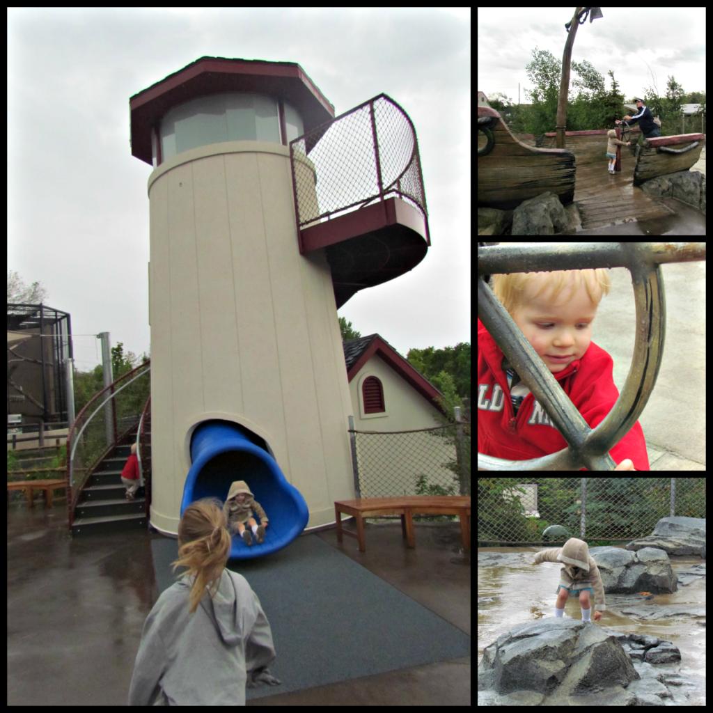 Kids area at Hogle Zoo