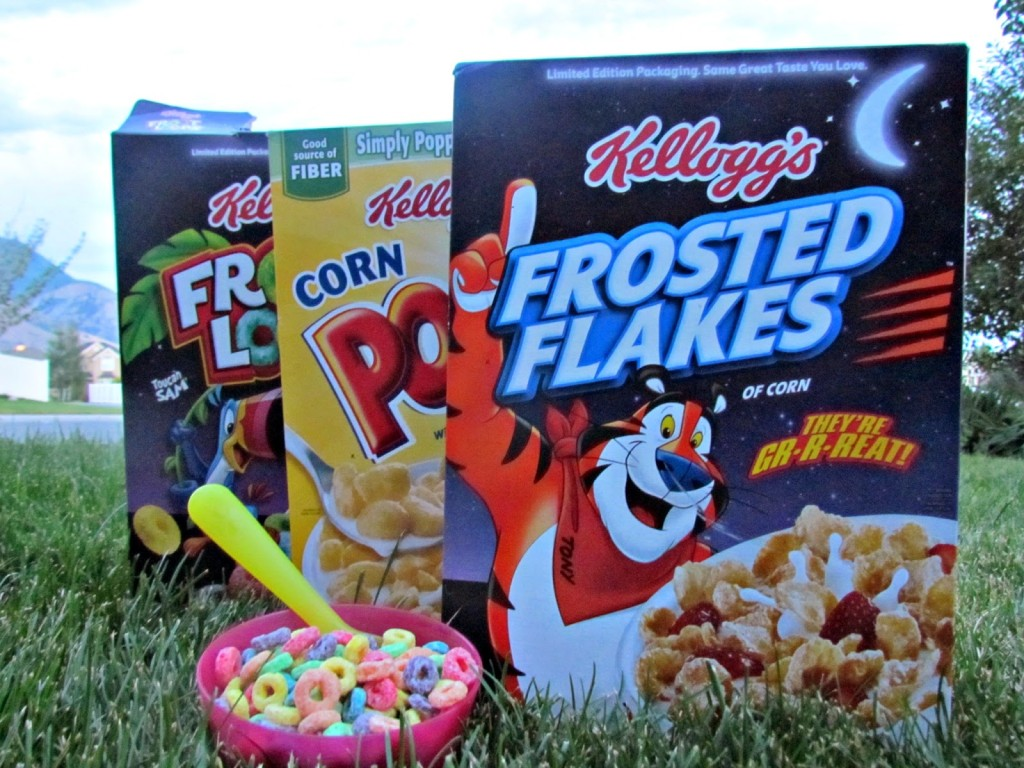 Kellogg's. Not just for breakfast anymore #goodnightsnack #shop #cbias