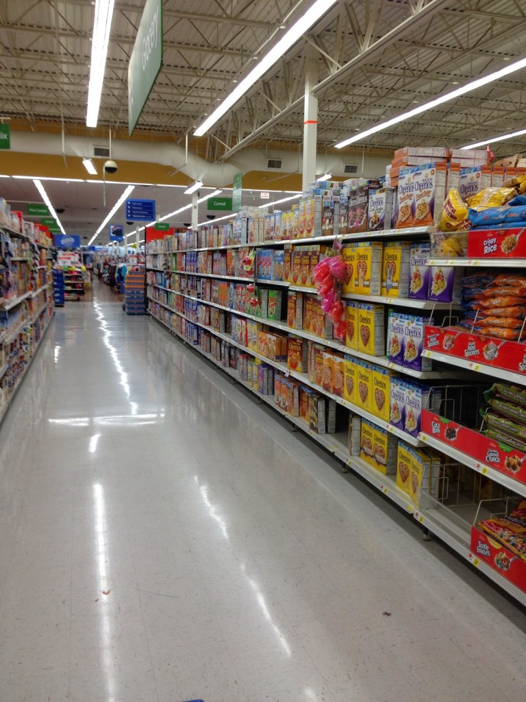 Find specialty marked boxes of Kellogg's at Walmart #goodnightsnack #shop #cbias