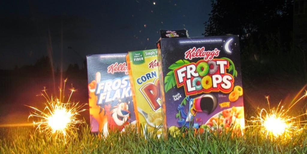 Kellogg's make the perfect #goodnightsnack #shop #cbias