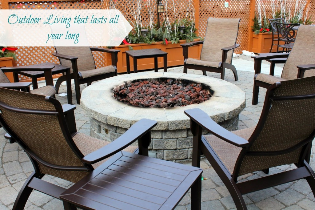 Tips for creating an outdoor living space that will last all year long.