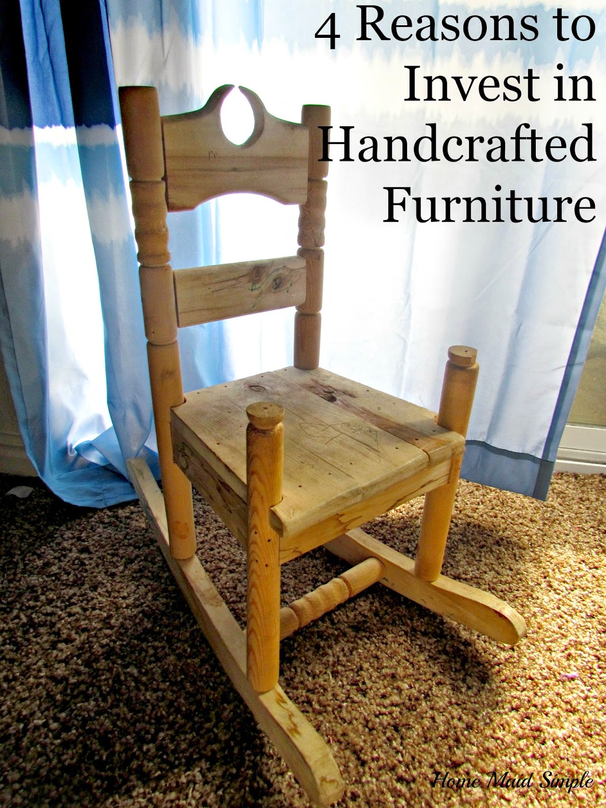 Reasons to invest in handcrafted furniture home maid