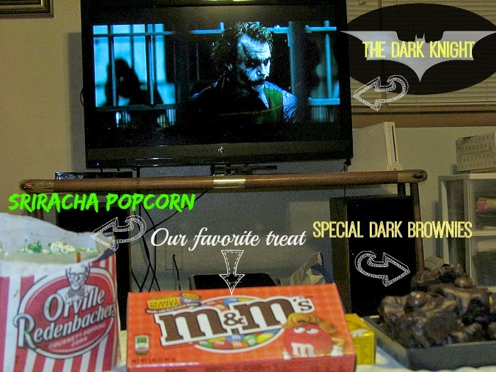 M&M's®, Orville Redenbacher's, and Warner Bros. The Dark Knight make for a perfect #MovieNight4Less #ad