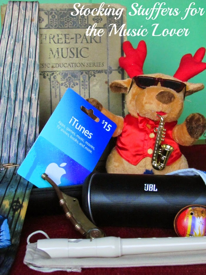 Music Lovers Christmas Stocking #GiftingAudio #ad