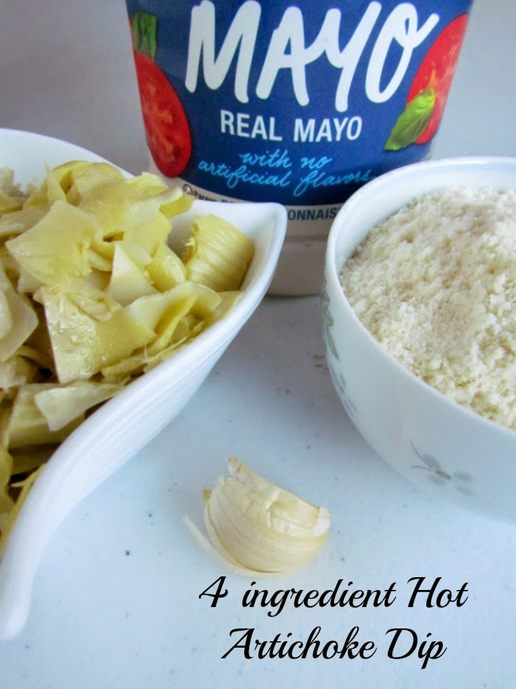 Hot Artichoke Dip ad #MustHaveMayo