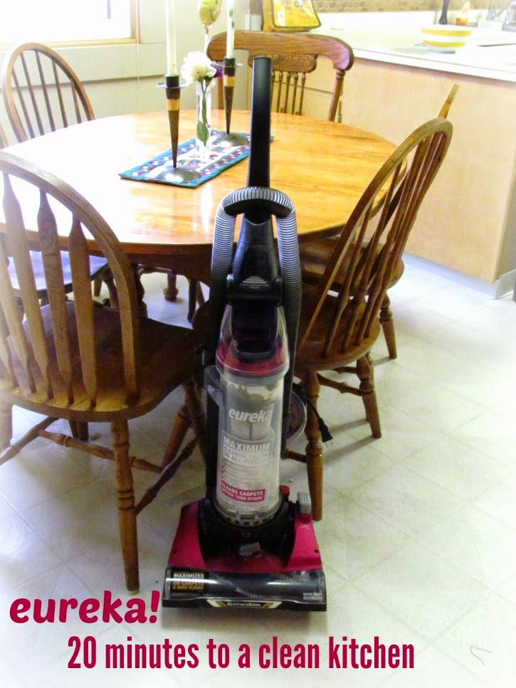 20 minutes to a clean home with #EurekaPower #ad