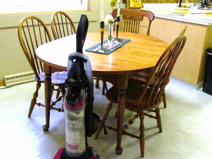 20 minutes to a clean kitchen! #EurekaPower #ad