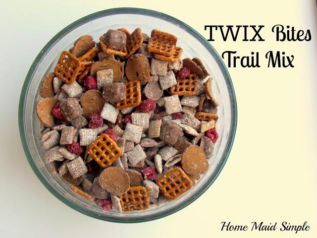 TWIX Bites Trail Mix. Kids love it! #EatMoreBites #shop #cbias
