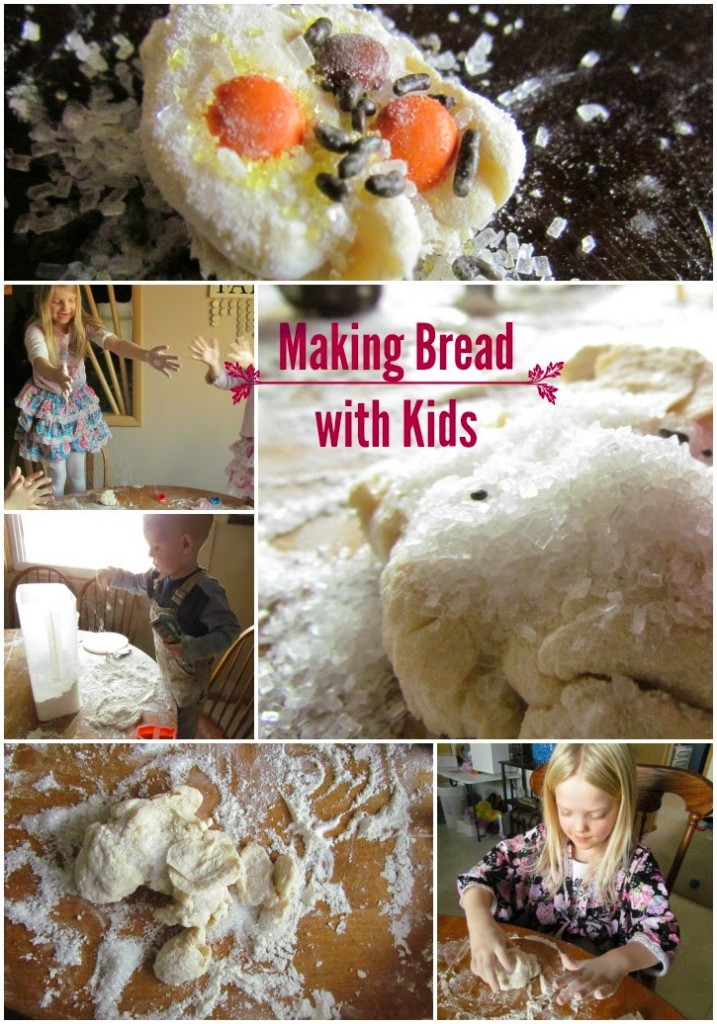 Make bread with the kids #EurekaPower #ad