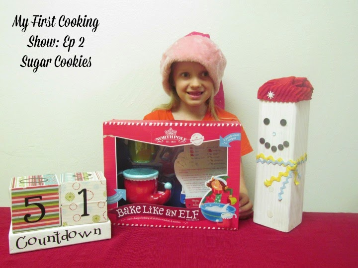My First Cooking Show. Come bake up some Sugar Cookies with your host Venice. #Kidsinthekitchen