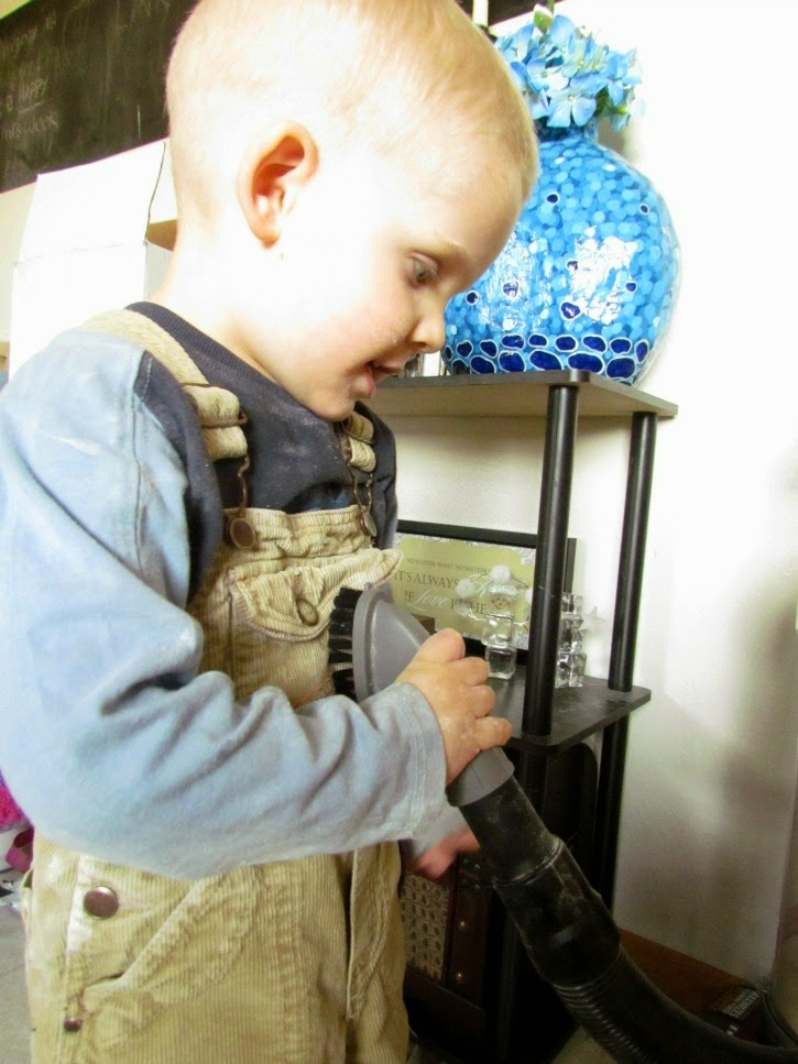 #EurekaPower on board tools can clean anything! #ad