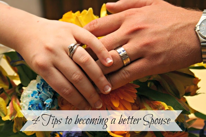4 tips on becoming a better spouse #marriage #2015word