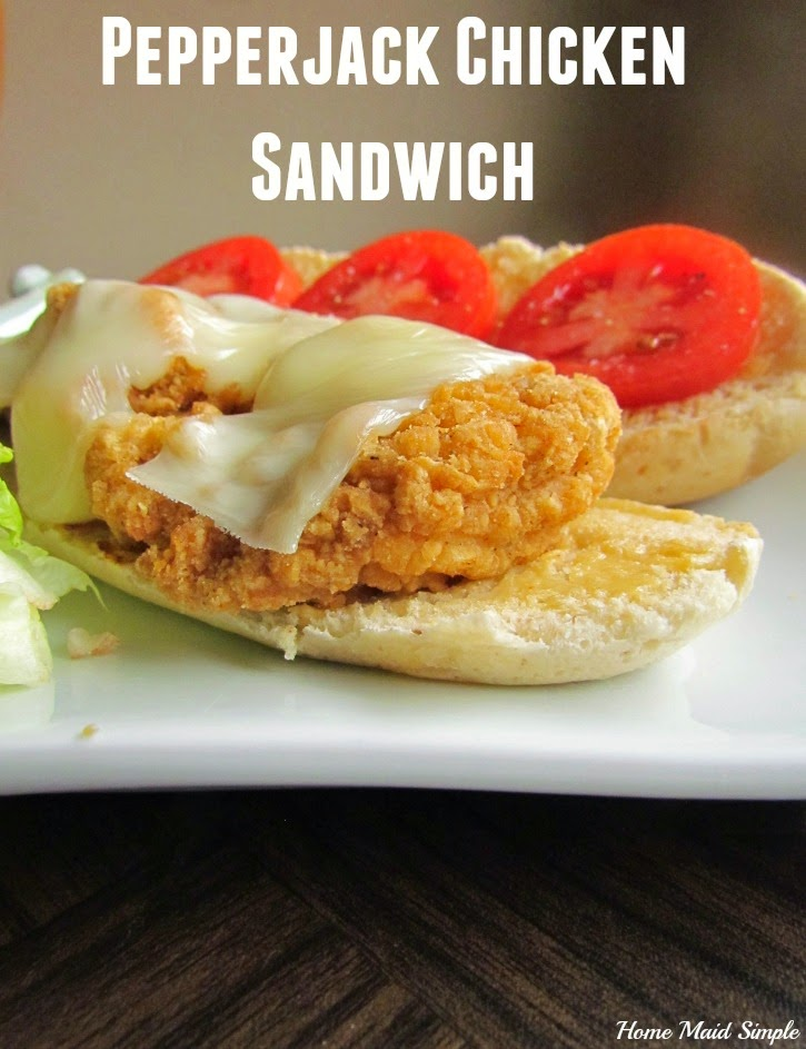 Pepper Jack Chicken Sandwich