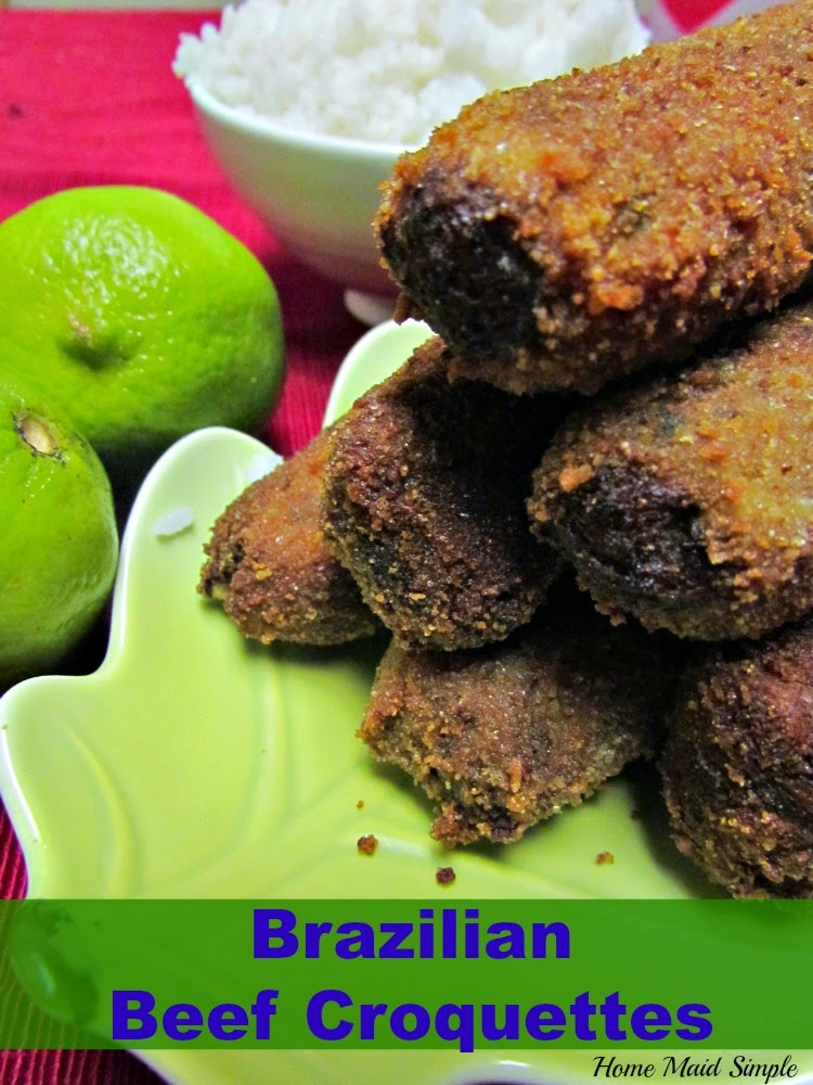 Enjoy Brazilian Beef Croquettes at home with this simple recipe
