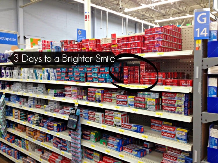 Colgate® Optic White® Express White at Walmart #OpticSmiles #ad