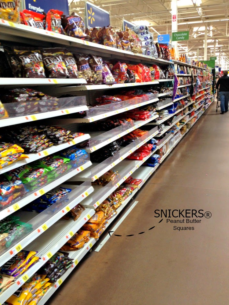 SNICKERS® at Walmart #WhenImHungry #Ad