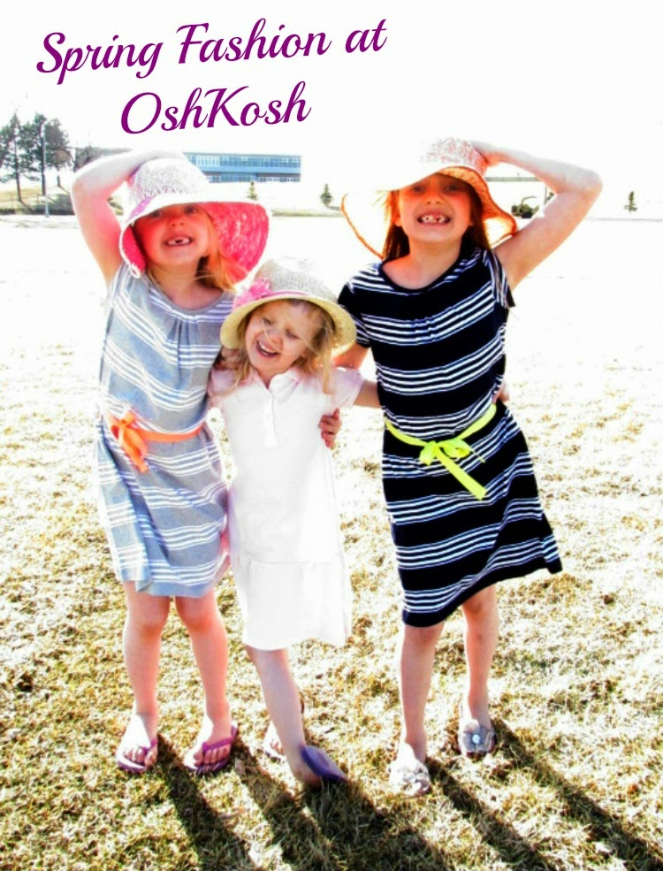 Spring Fashion at OshKosh. Bring color and fun to your kids wardrobe #ImagineSpring #sponsored