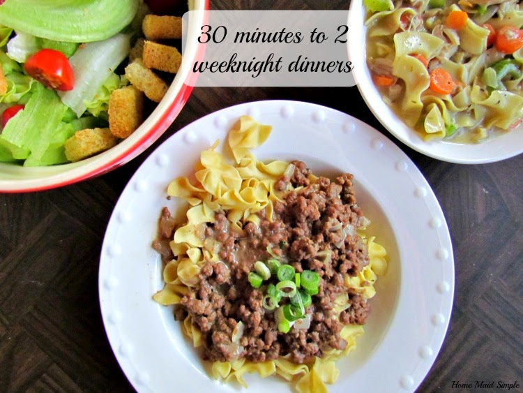 30 minutes to 2 weeknight dinners with Campbells Soups for Easy Cooking #WeekNightHero #Ad