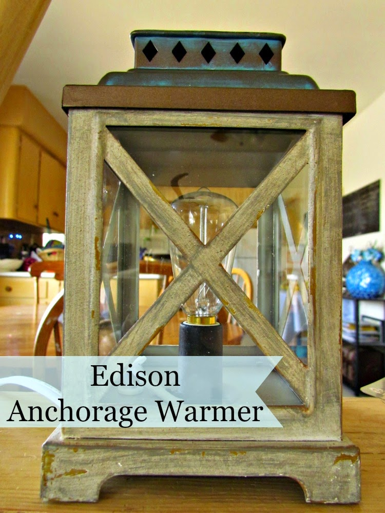 Edison Anchorage warmer from Scentsationals #WicklessWonders #Ad