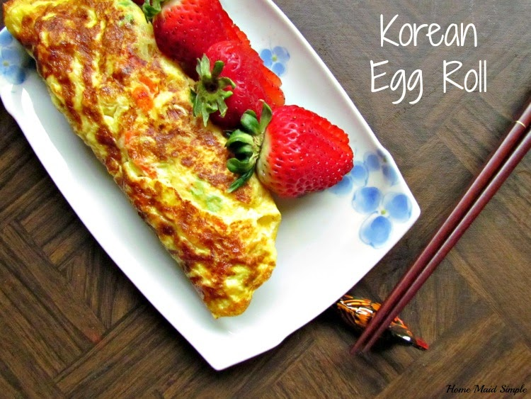 Korean Egg Rolls