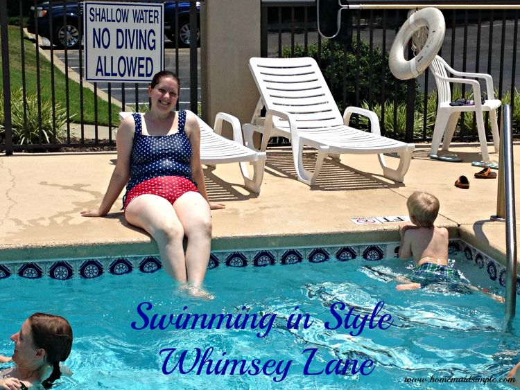 Whimsey Lane Swimwear. Fashionable, Modest, and lots of fun! (ad)