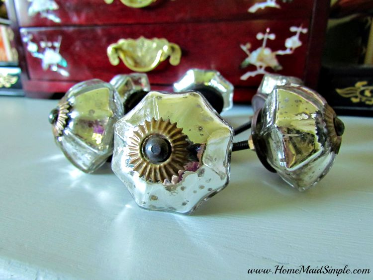 Trinca-Ferro Mirror Glass Knobs