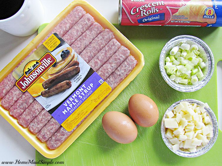 Breakfast is better with sausage and syrup #backtoschoolbreakfast ad